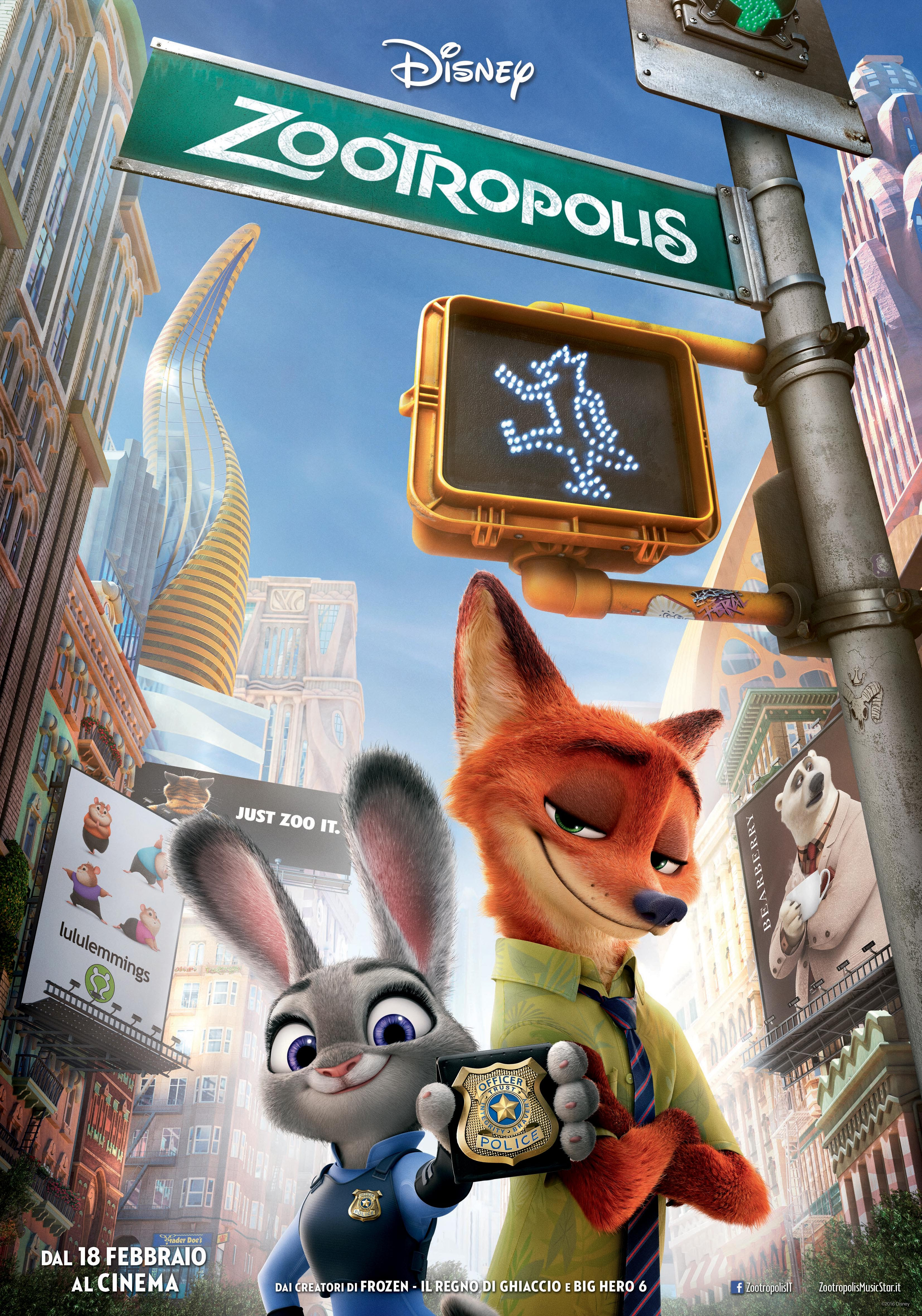 Zootropolis Sta Per Arrivare Al Cinema on Bulletin Board Kids Monsters