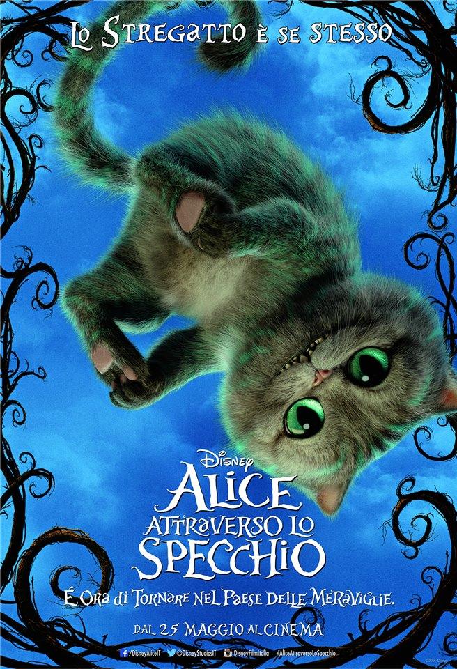 Rivelati i character poster di alice attraverso lo specchio disney always with us - Alice e lo specchio ...
