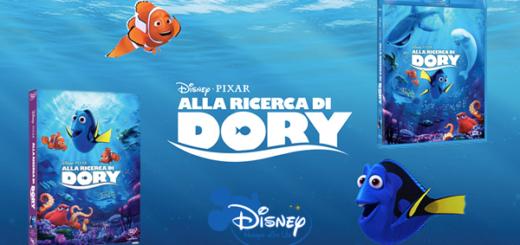 Alla Ricerca di Dory - Blu ray Dvd