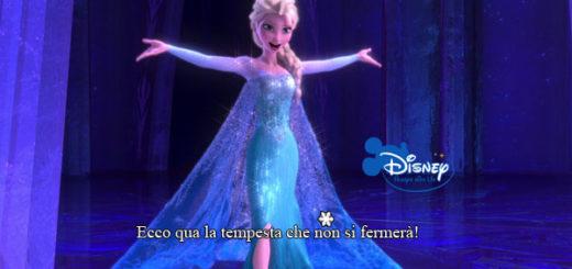 Frozen Versione Karaoke