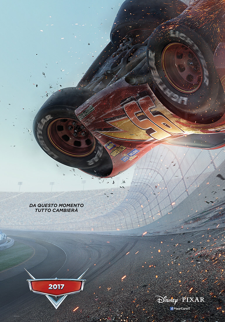 Cars 3 poster ufficiale