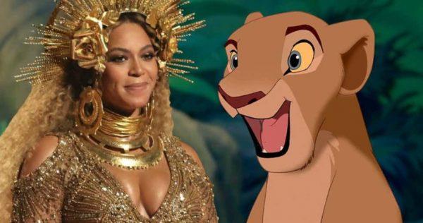 Beyonce Il Re Leone Nala