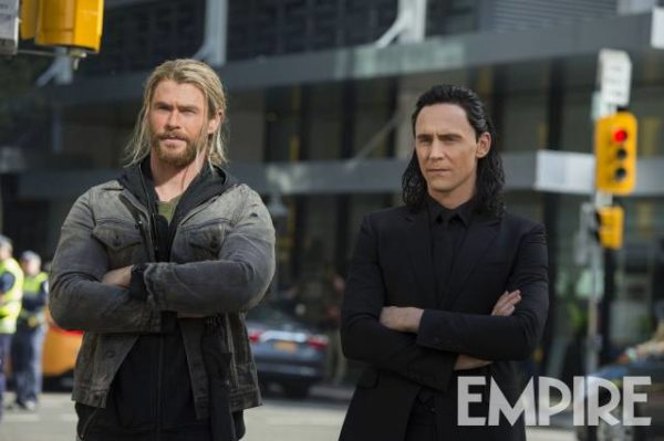 Thor Ragnarok - Thor e Loki