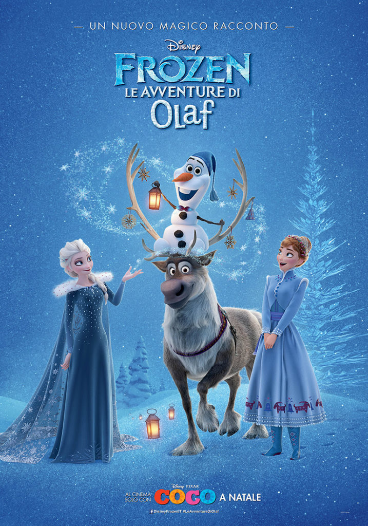 Frozen: Le Avventure di Olaf Poster