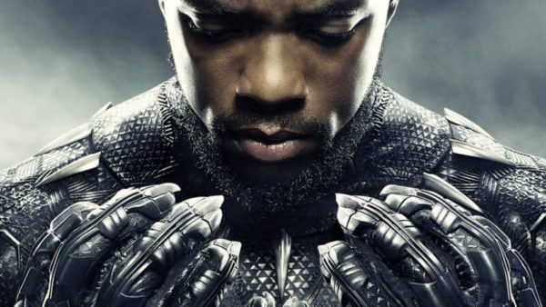 Black Panther character poster