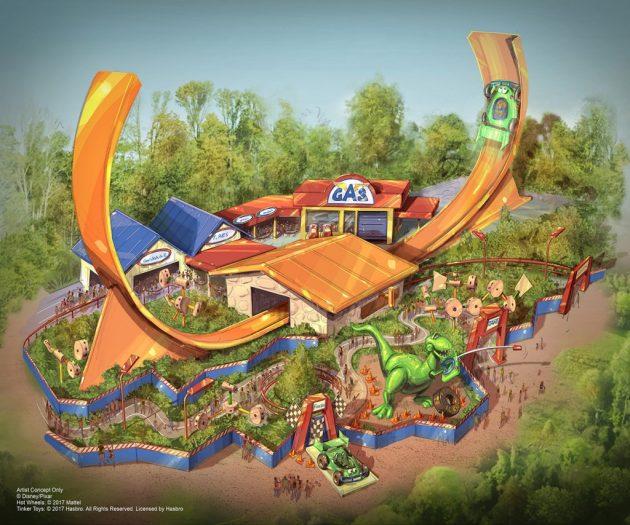 Toy Story Land Shangai