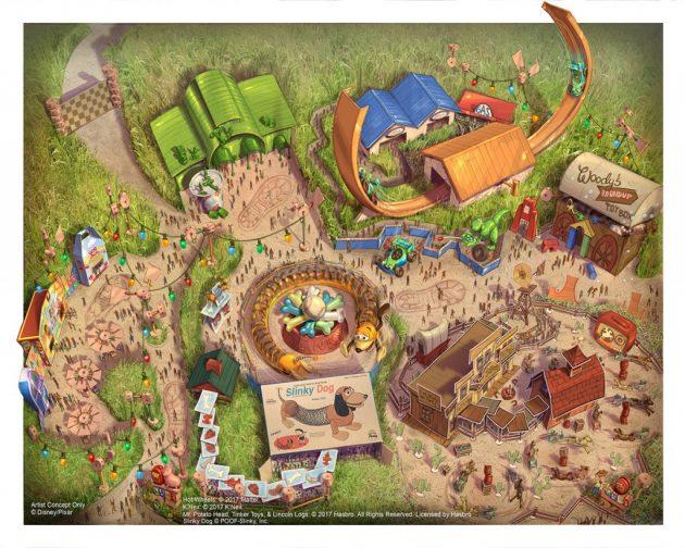 Toy Story Land Disneyland Shangai