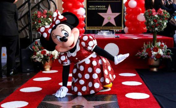 Minnie Walk of Fame Hollywood
