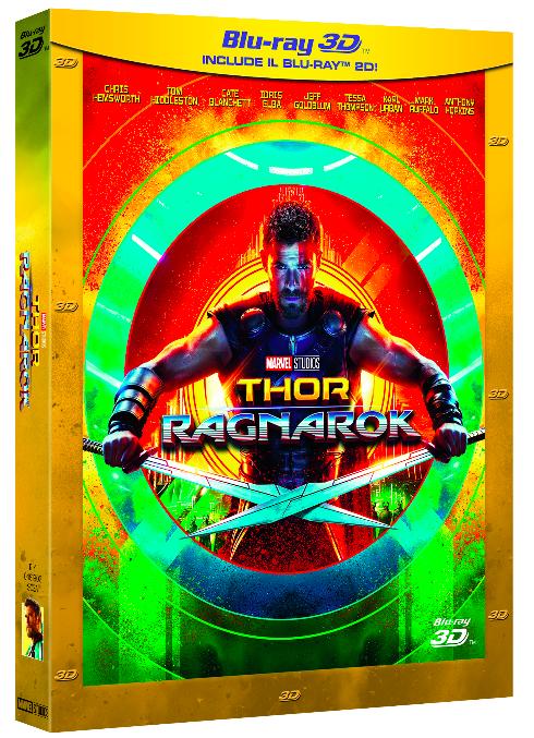 Thor: Ragnarok Blu Ray 3D