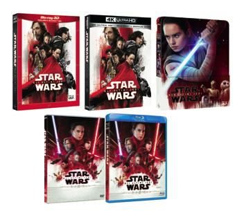 Star Wars: Gli Ultimi Jedi Home Video